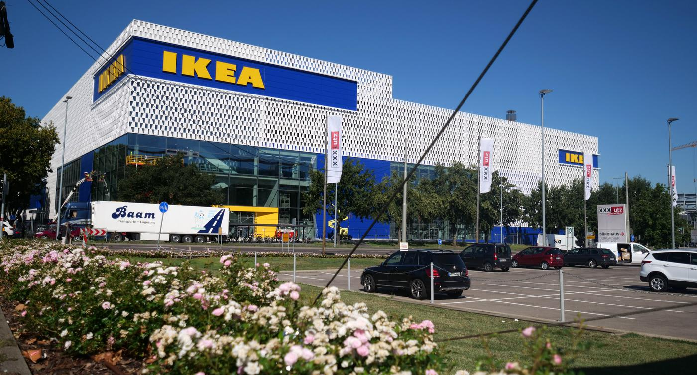 Ikea Karlsruhe Baubeginn