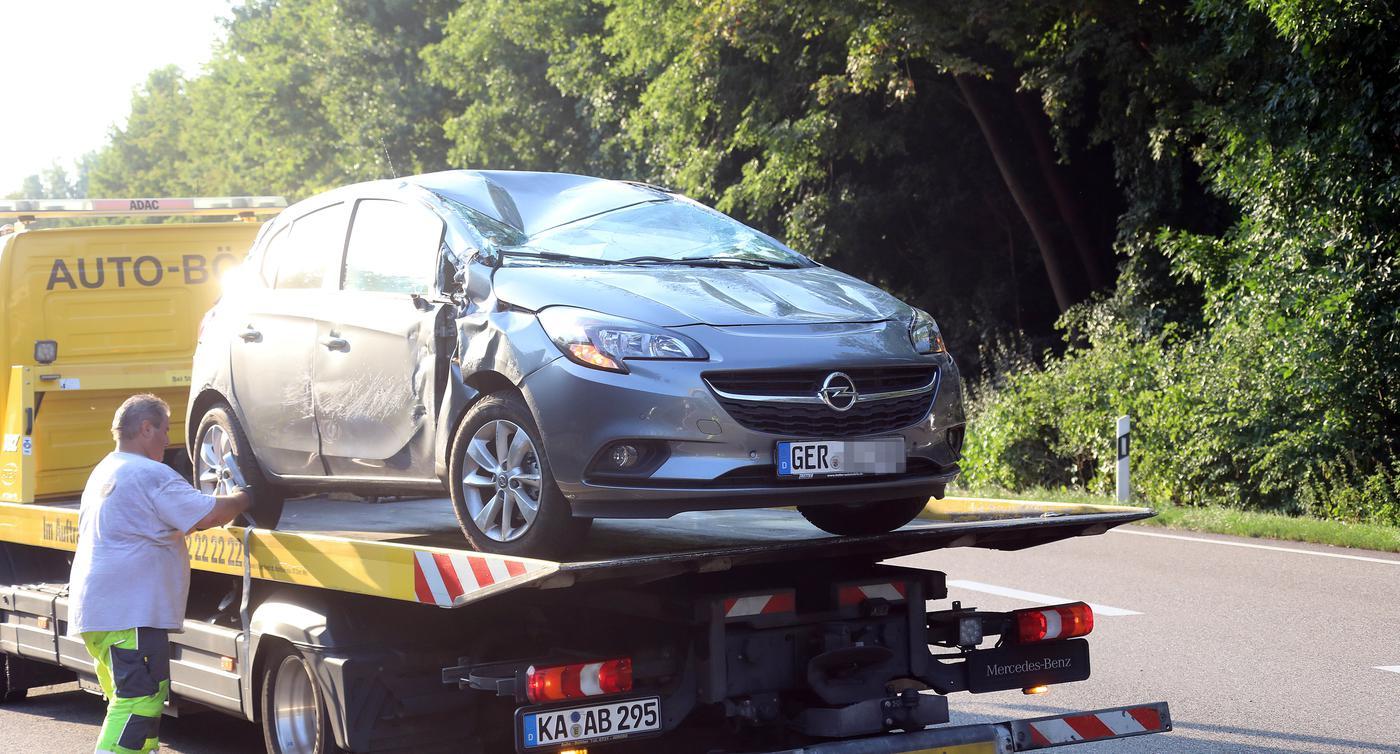 Unfall Südtangente Karlsruhe Heute