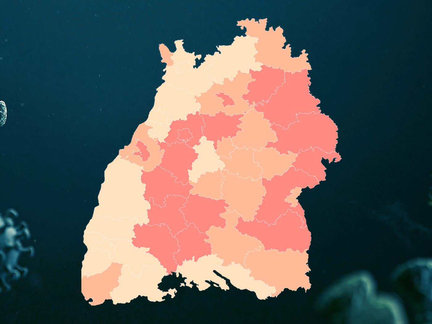 Corona Zahlen Baden Württemberg Karte