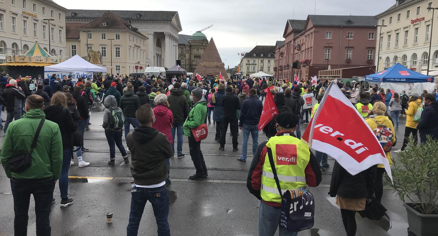 Streik Karlsruhe