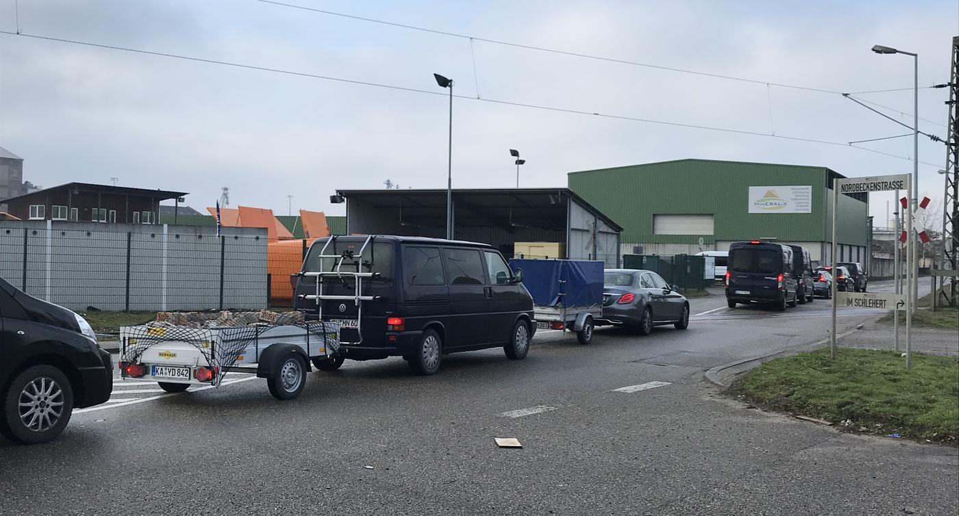 Wertstoffstationen Karlsruhe