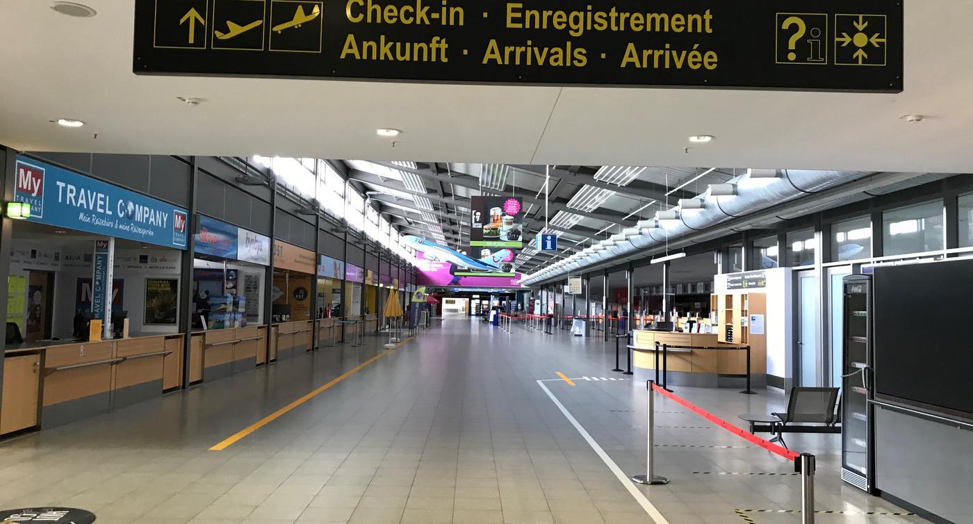 Baden Airpark Corona Test