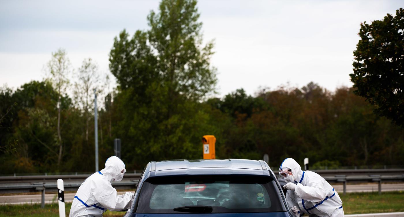Kürzer als jede Pipi-Pause: So läuft der Corona-Test an der A5 bei Neuenburg