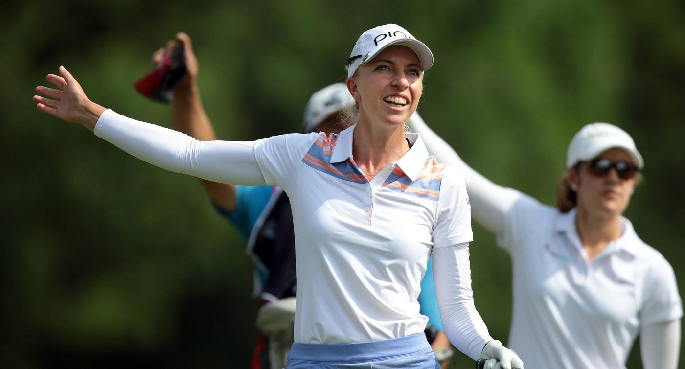 How Sophia Popov went from caddying to winning the Womens