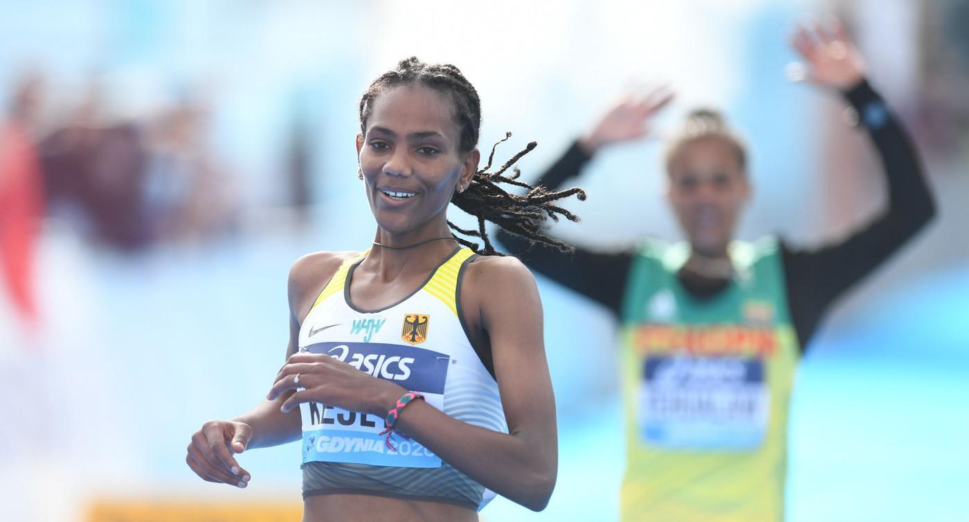 Kejeta wird Vize-Weltmeisterin über Halbmarathon-Distanz