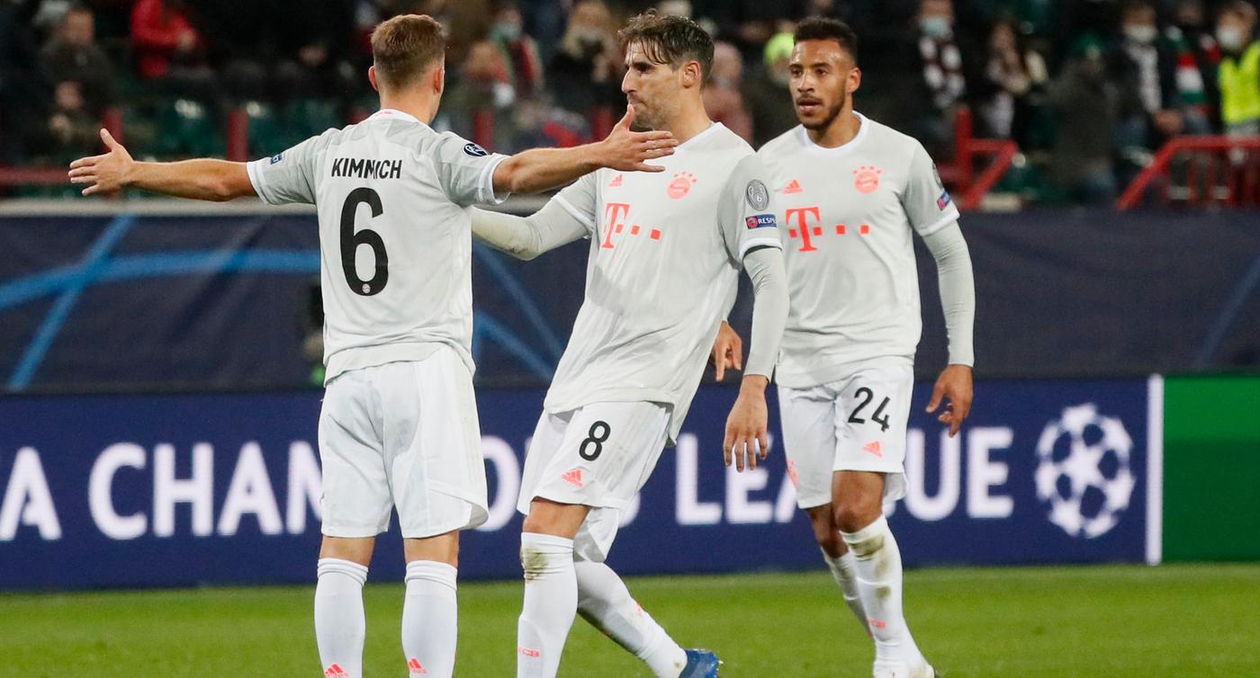 Dank Kimmich: Bayern mit Arbeitssieg bei Lokomotive Moskau